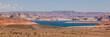 Panoramic view of Lake powell, Utah