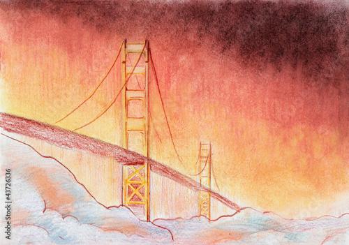most-na-niebie