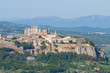 Leinwandbild Motiv Panoramic view of Orvieto. Umbria. Italy.
