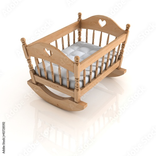 cradle isolated