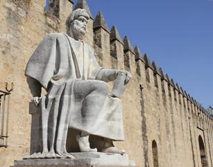 Estatua de Averroes en Córdoba - España