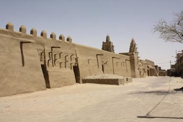 Djinger-ber Mosque, Moschee Timbuktu, Tombouctou