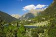 lake Llebreta in national park Aiguestortes in Catalonia