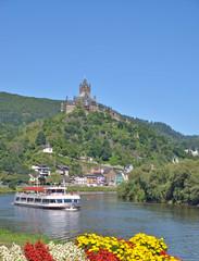 die berühmte Reichsburg in Cochem an der Mosel