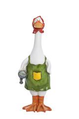 Ceramic figurine of a goose