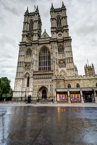 The Westminster Abbey, London