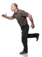 man run