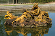 bronze statue in the park of Versailles Palace