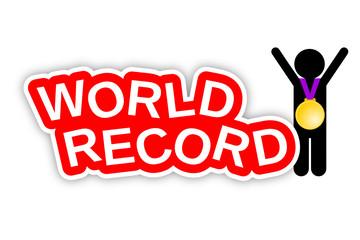 World Record, Jubel mit Goldmedaille