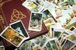 Buch der Schatten + Tarotkarten (Hexentarot)