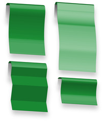 Paper origami vector