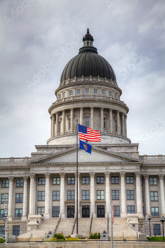 Capitol building in Salt Lake City, Utah
