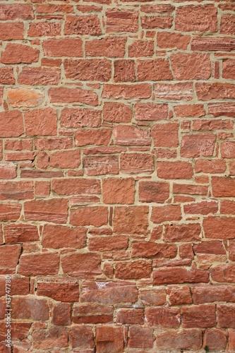 Fassade aus Sandsteinen