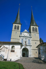 Lucerne cathedral, Switzerland