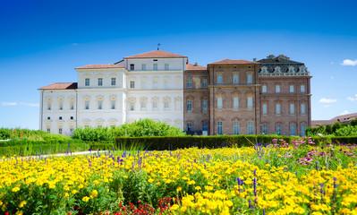 Garden and palace facade - Reggia di Venaria