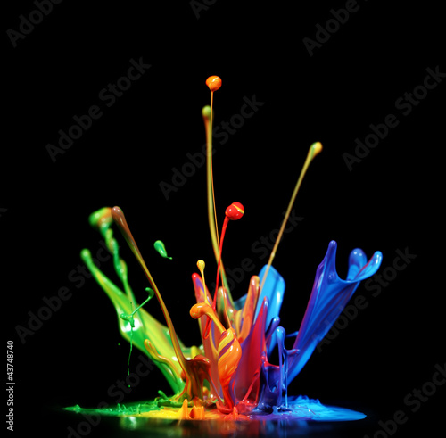 Paint splash - 43748740
