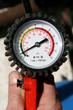 Leinwandbild Motiv Luftdruck-Messgerät