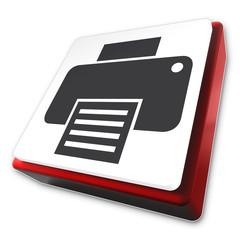 Drucken Button, Icon