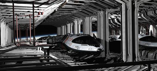 Shuttle Hanger Deck