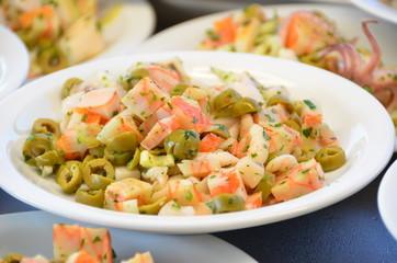 Pesce con olive