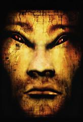 gold demon monster