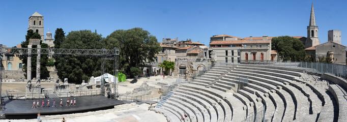 Teatro antico romano di Arles in provenza francese