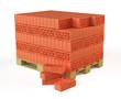 Bricks on Pallet
