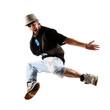 junger Tänzer beim Sprung