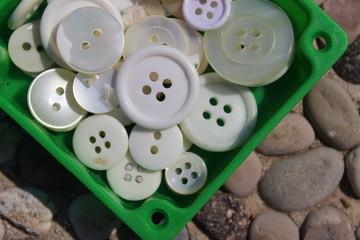 bottoni bianchi