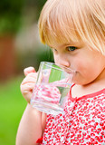 Child with cup of water