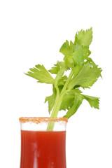 Closeup caesar cocktail drink