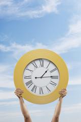 Big Yellow Clock