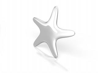 Stella marina d'argento