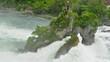 Felsen im Rheinfall bei Schaffhausen / Schweiz