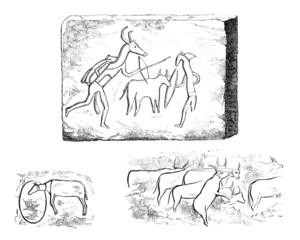 Prehistoric African Rock Paintings