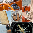 Sailboat and yacht collage