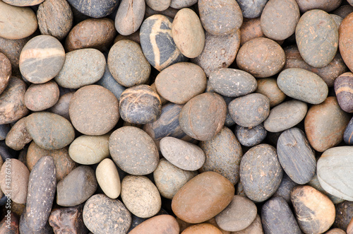 pattern of a gravel stone