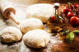 Pizza dough - 43768174