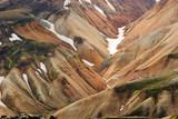 island landmannalaugar Berge