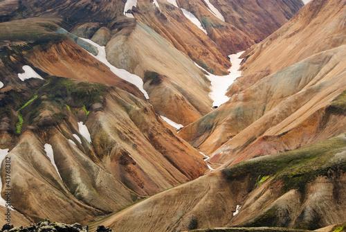 island landmannalaugar Berge - 43768382