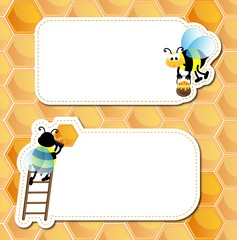 Labels for honey