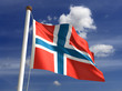 Norway flag (with clipping path)