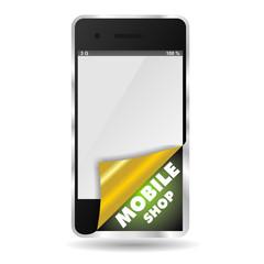 SMARTPHONE MOBILE SHOP WRAP
