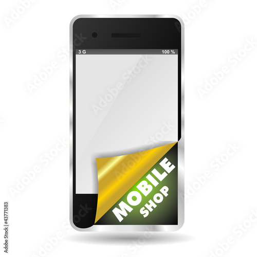 SMARTPHONE MOBILE SHOP WRAP