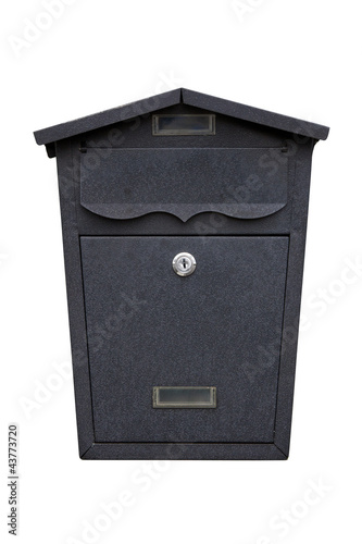 mailbox  isolated on white background