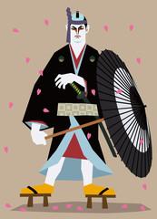 助六/日本のアウトロー