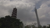 Timelapse of Traditional and modern in Guangzhou