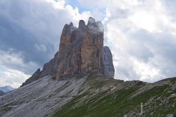 Dolomites, peaks of Lavaredo
