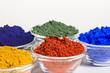 Farbpigmente in Glasschälchen - 43785180