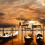 sunset in Venice - 43787372